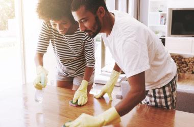 5 dicas para uma limpeza rápida e eficiente na sua casa