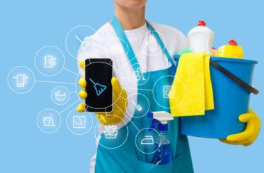 Terceirização de limpeza x Diarista de aplicativo: qual o melhor?