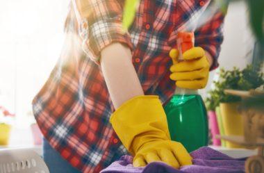 4 dicas para limpar a cozinha rápido